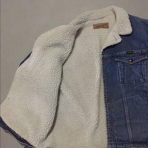 Wrangler Jackets & Coats - Wrangler Sherpa Denim Jacket 2XL
